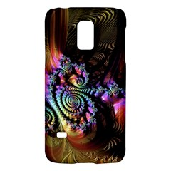Fractal Colorful Background Galaxy S5 Mini by Celenk