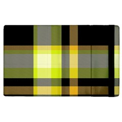 Tartan Abstract Background Pattern Textile 5 Apple Ipad 2 Flip Case by Celenk