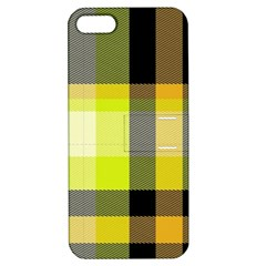 Tartan Abstract Background Pattern Textile 5 Apple Iphone 5 Hardshell Case With Stand by Celenk