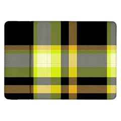 Tartan Abstract Background Pattern Textile 5 Samsung Galaxy Tab 8 9  P7300 Flip Case by Celenk
