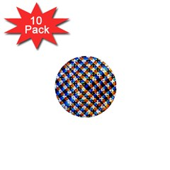 Kaleidoscope Pattern Ornament 1  Mini Magnet (10 Pack)  by Celenk