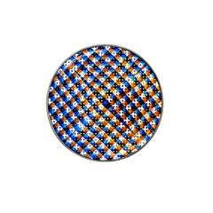 Kaleidoscope Pattern Ornament Hat Clip Ball Marker (10 Pack) by Celenk