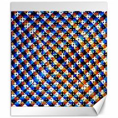 Kaleidoscope Pattern Ornament Canvas 20  X 24   by Celenk