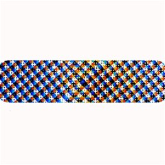 Kaleidoscope Pattern Ornament Large Bar Mats by Celenk