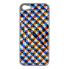 Kaleidoscope Pattern Ornament Apple Iphone 5 Case (silver) by Celenk