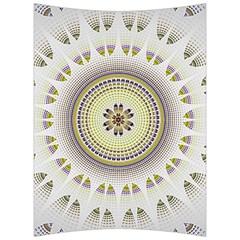 Mandala Fractal Decorative Back Support Cushion by Celenk