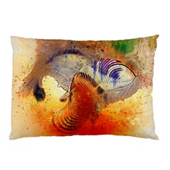 Dirty Dirt Image Spiral Wave Pillow Case by Celenk