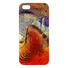 Dirty Dirt Image Spiral Wave Apple Iphone 5 Premium Hardshell Case by Celenk