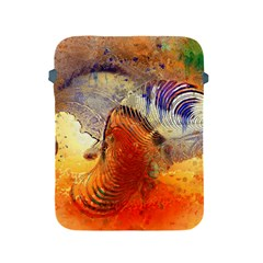 Dirty Dirt Image Spiral Wave Apple Ipad 2/3/4 Protective Soft Cases by Celenk