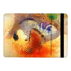 Dirty Dirt Image Spiral Wave Samsung Galaxy Tab Pro 10 1  Flip Case by Celenk