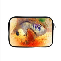 Dirty Dirt Image Spiral Wave Apple Macbook Pro 15  Zipper Case by Celenk