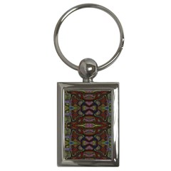 Pattern Abstract Art Decoration Key Chains (rectangle)  by Celenk