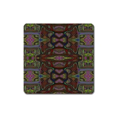 Pattern Abstract Art Decoration Square Magnet by Celenk
