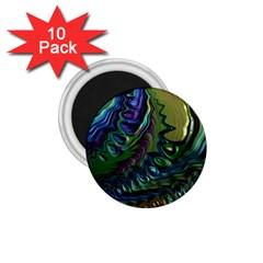 Fractal Art Background Image 1 75  Magnets (10 Pack)  by Celenk