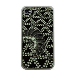 Batik Traditional Heritage Indonesia Apple Iphone 4 Case (clear) by Celenk