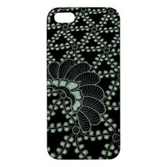 Batik Traditional Heritage Indonesia Apple Iphone 5 Premium Hardshell Case by Celenk
