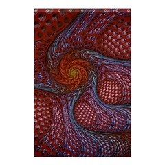 Fractal Red Fractal Art Digital Art Shower Curtain 48  X 72  (small)  by Celenk