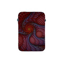 Fractal Red Fractal Art Digital Art Apple Ipad Mini Protective Soft Cases by Celenk