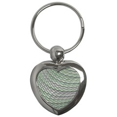 Art Design Style Decorative Key Chains (heart)  by Celenk