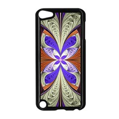 Fractal Splits Silver Gold Apple Ipod Touch 5 Case (black) by Celenk