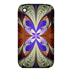 Fractal Splits Silver Gold Iphone 3s/3gs by Celenk