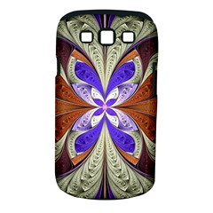 Fractal Splits Silver Gold Samsung Galaxy S Iii Classic Hardshell Case (pc+silicone) by Celenk