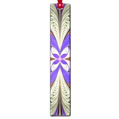 Fractal Splits Silver Gold Large Book Marks by Celenk