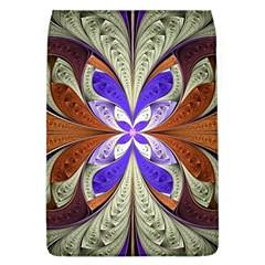 Fractal Splits Silver Gold Flap Covers (l)  by Celenk