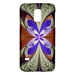 Fractal Splits Silver Gold Galaxy S5 Mini by Celenk