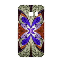 Fractal Splits Silver Gold Galaxy S6 Edge by Celenk