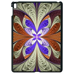 Fractal Splits Silver Gold Apple Ipad Pro 9 7   Black Seamless Case by Celenk