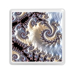 Fractal Art Design Fantasy 3d Memory Card Reader (square)  by Celenk