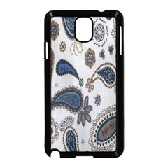 Pattern Embroidery Fabric Sew Samsung Galaxy Note 3 Neo Hardshell Case (black) by Celenk