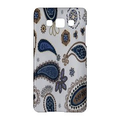 Pattern Embroidery Fabric Sew Samsung Galaxy A5 Hardshell Case  by Celenk