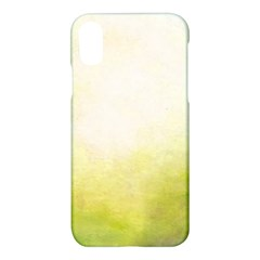 Ombre Apple Iphone X Hardshell Case by ValentinaDesign