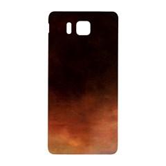 Ombre Samsung Galaxy Alpha Hardshell Back Case by ValentinaDesign