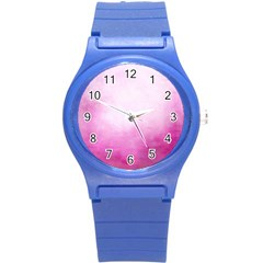 Ombre Round Plastic Sport Watch (s) by ValentinaDesign
