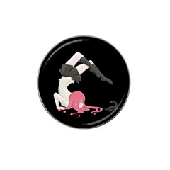 Scorpio Girl Hat Clip Ball Marker (4 Pack) by Valentinaart