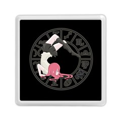 Scorpio Girl Memory Card Reader (square)  by Valentinaart