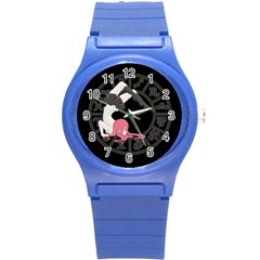 Scorpio Girl Round Plastic Sport Watch (s) by Valentinaart