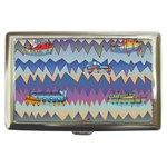 Zig zag boats Cigarette Money Cases
