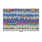 Zig zag boats Business Card Holders