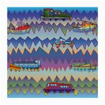 Zig zag boats Medium Glasses Cloth (2-Side)