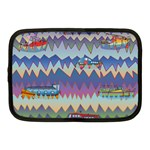Zig zag boats Netbook Case (Medium)