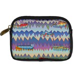Zig zag boats Digital Camera Cases