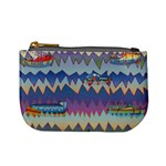 Zig zag boats Mini Coin Purses