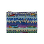 Zig zag boats Cosmetic Bag (Medium)