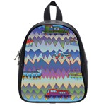 Zig zag boats School Bag (Small)