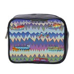 Zig zag boats Mini Toiletries Bag 2-Side