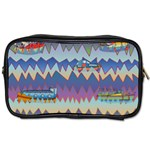 Zig zag boats Toiletries Bags 2-Side